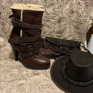 Amazing Aldo leather boots